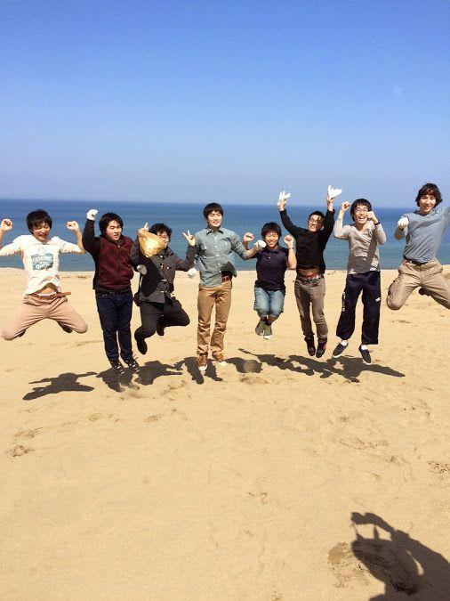 大阪の大学から、ロボット仲間