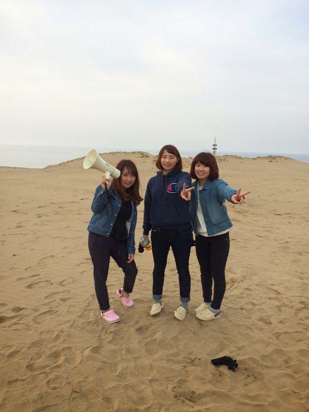 徳島から女性グループ