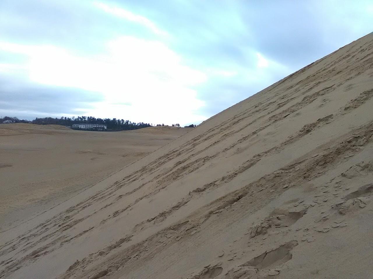 砂の丘より高いフライト