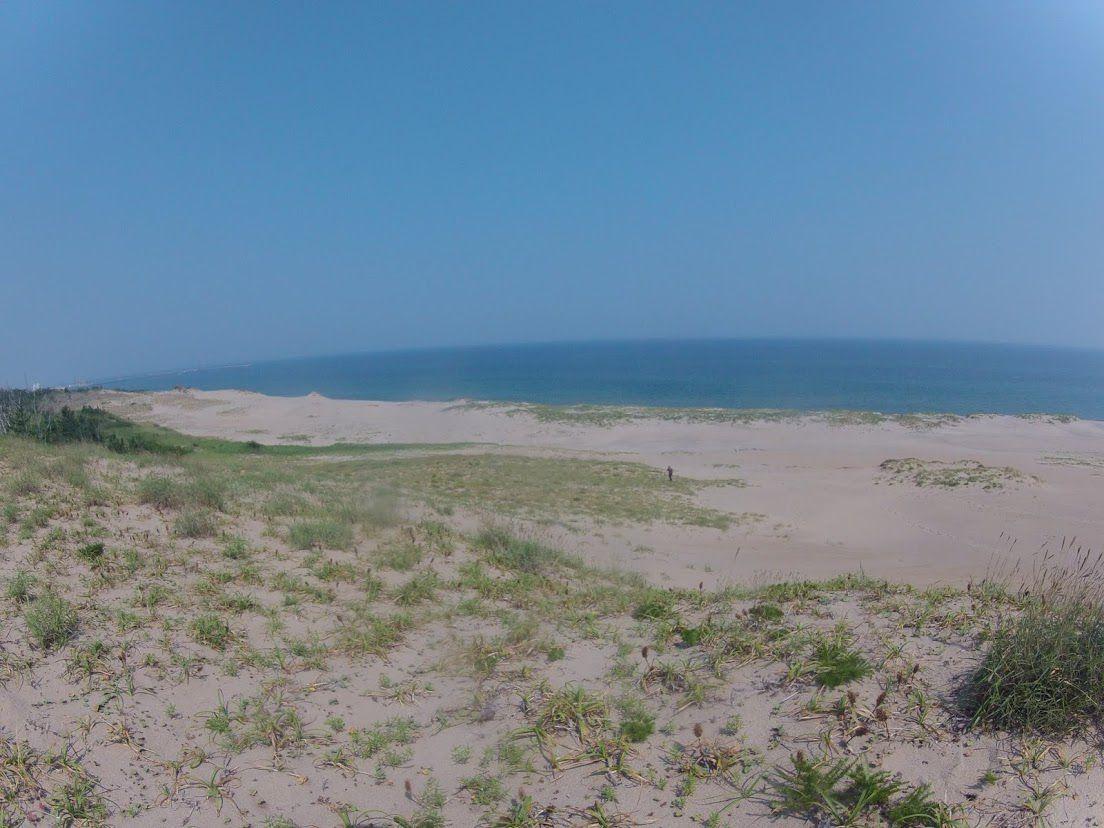 晴天の鳥取砂丘