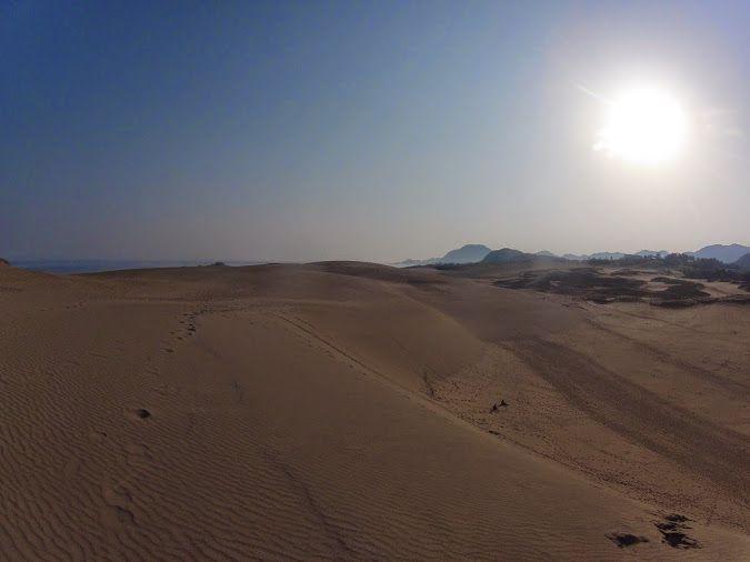 朝日鳥取砂丘
