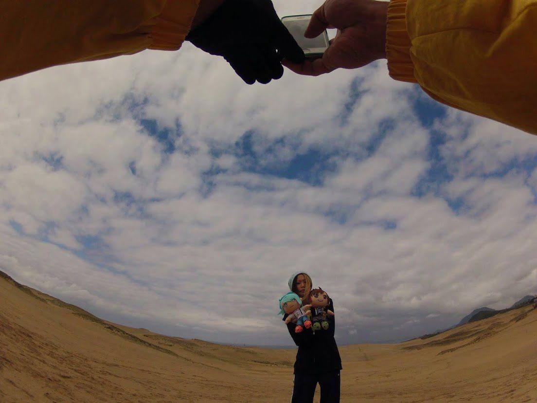 ゴールデンボンバー砂丘パラグライダー