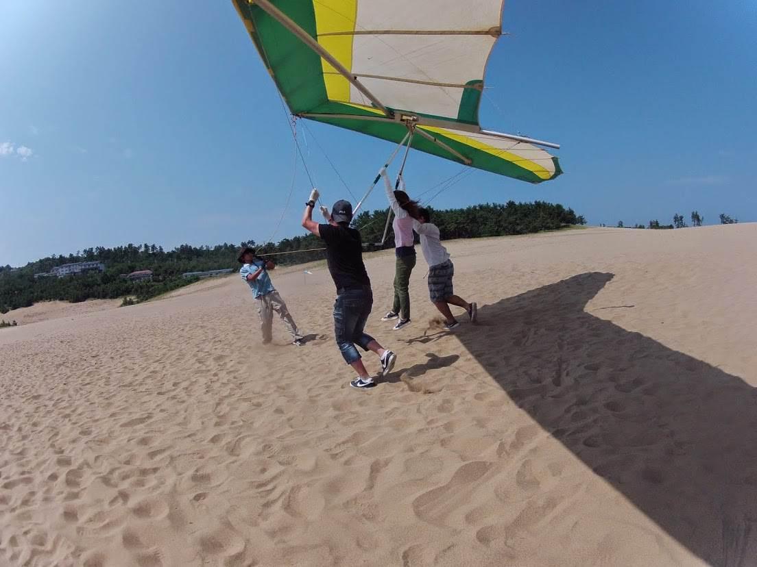 ハングフライト砂丘