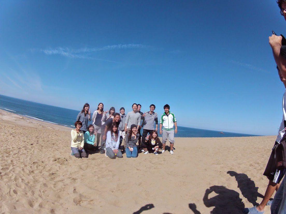 午前砂丘パラ