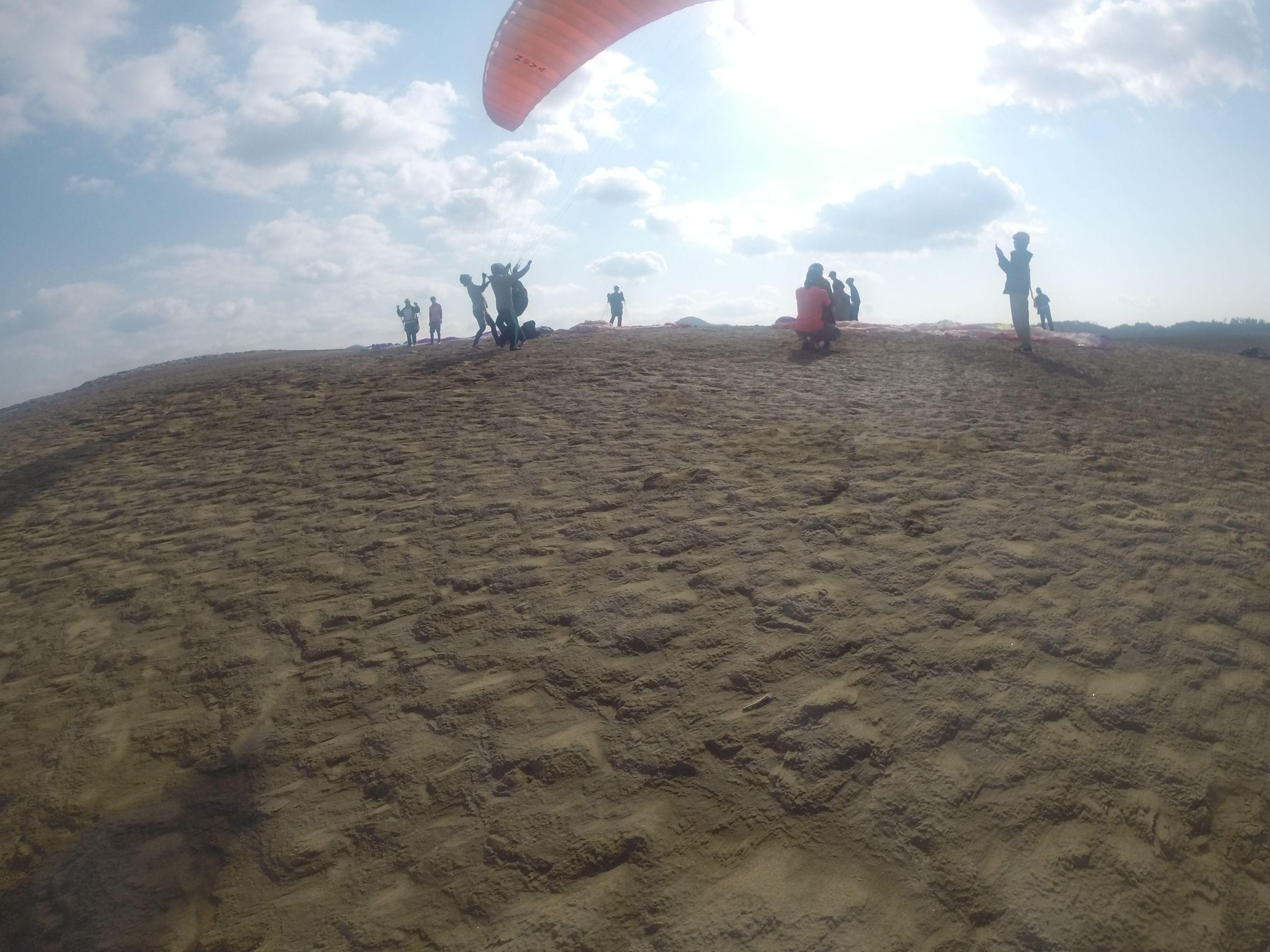 海風が入ってきたので、まずは気軽に風に乗ろう