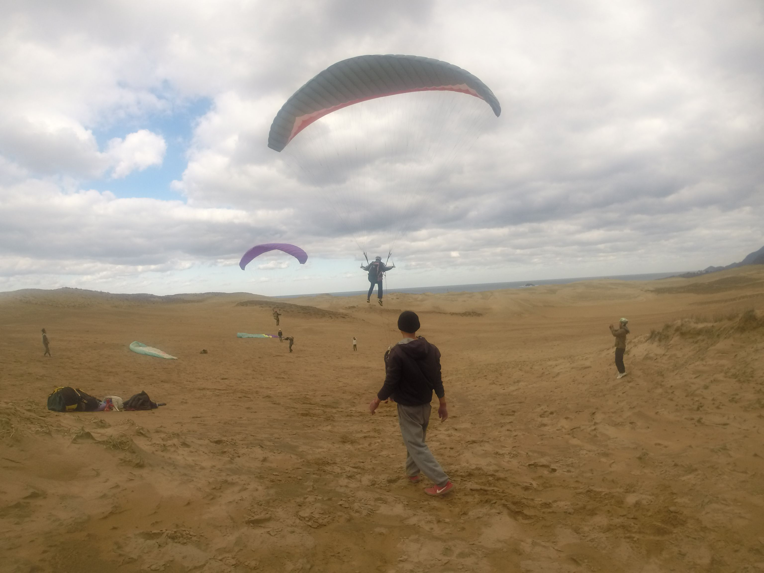 仲間や家族と一緒に飛ぶランデブーフライト