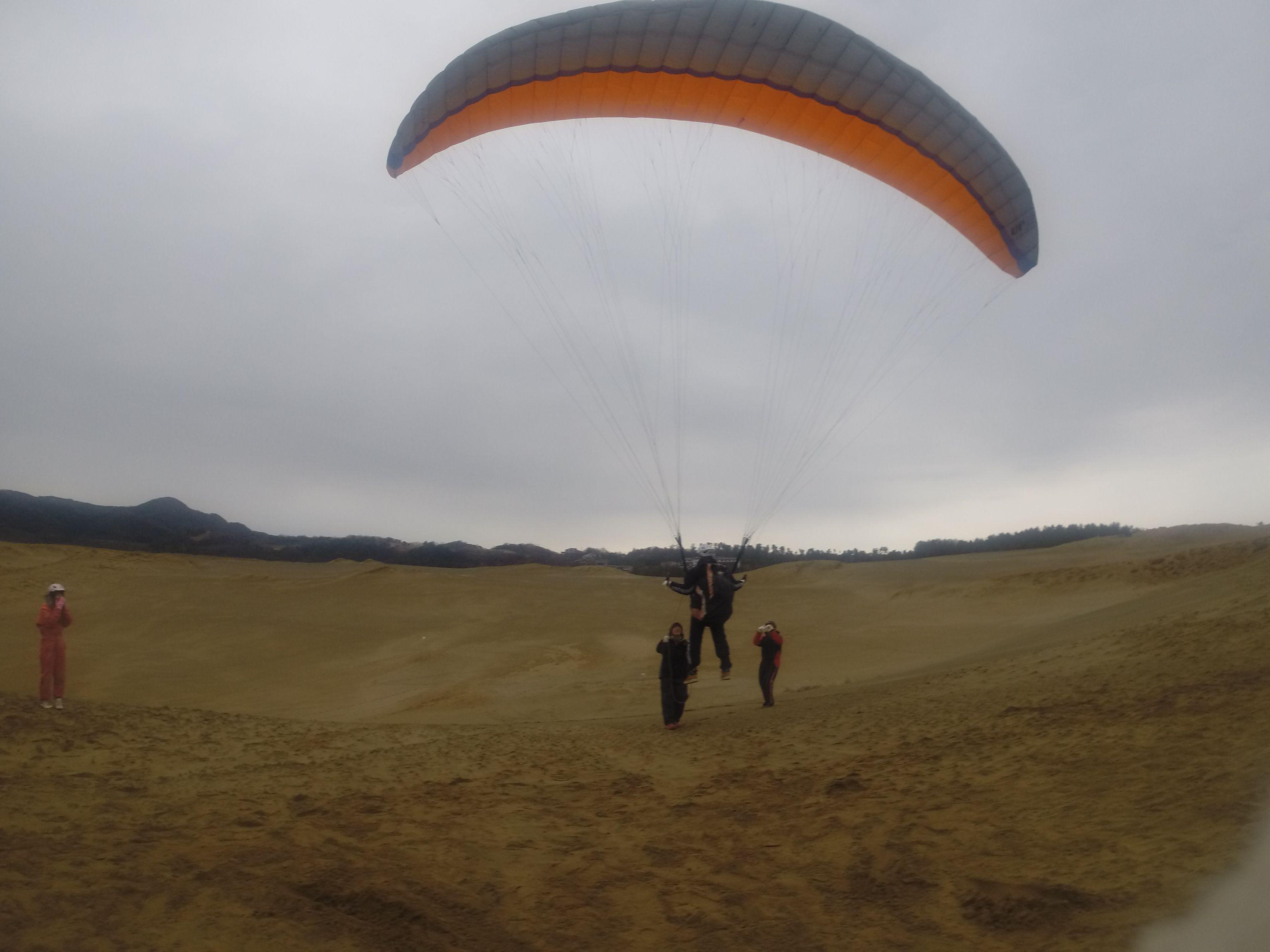 飛びやすそうな南風に乗って、最初の第一歩