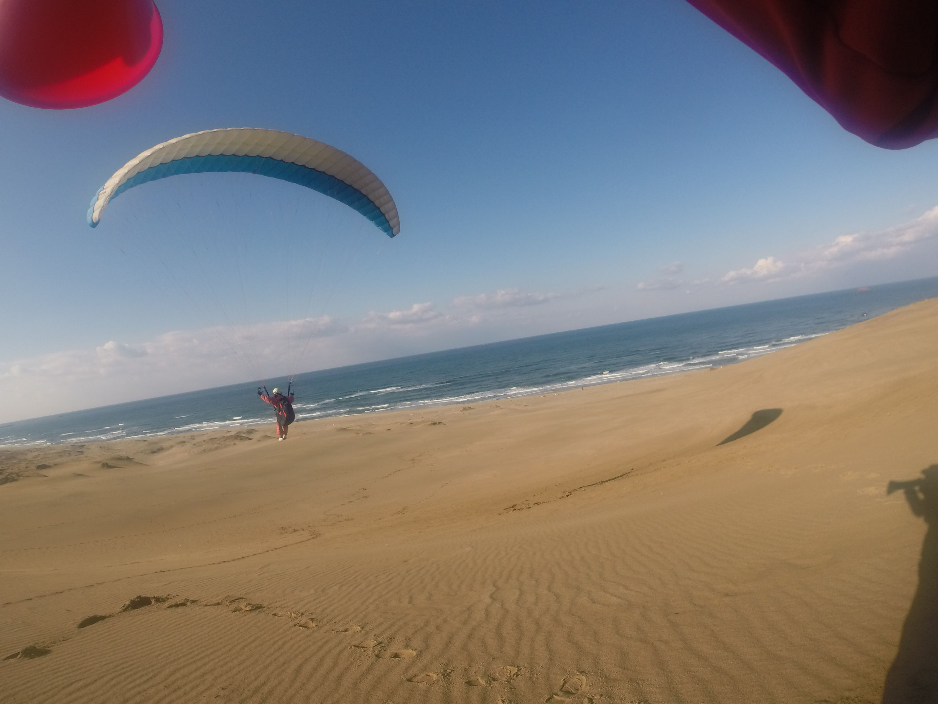 美しい海と空を眺めながら、悠々空の旅を楽しむ