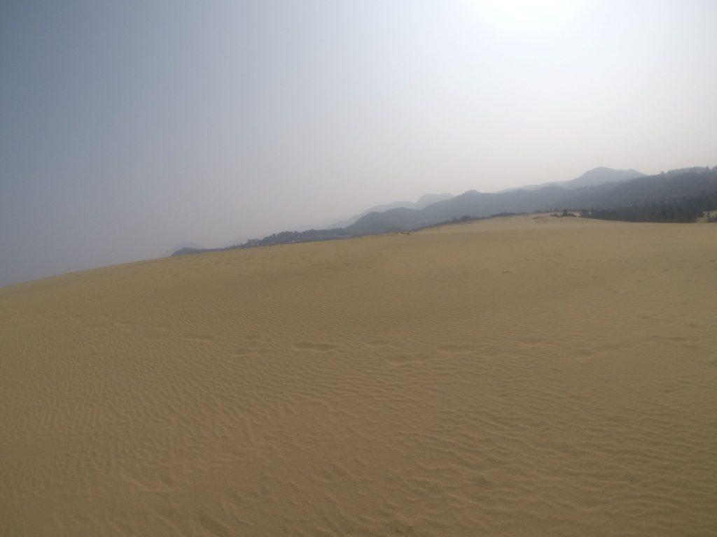 最近ずっと晴れている鳥取砂丘