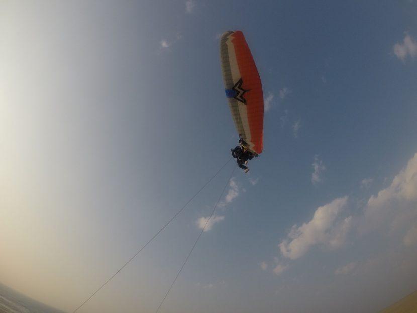 思いっきり飛べた、いい天気の週末