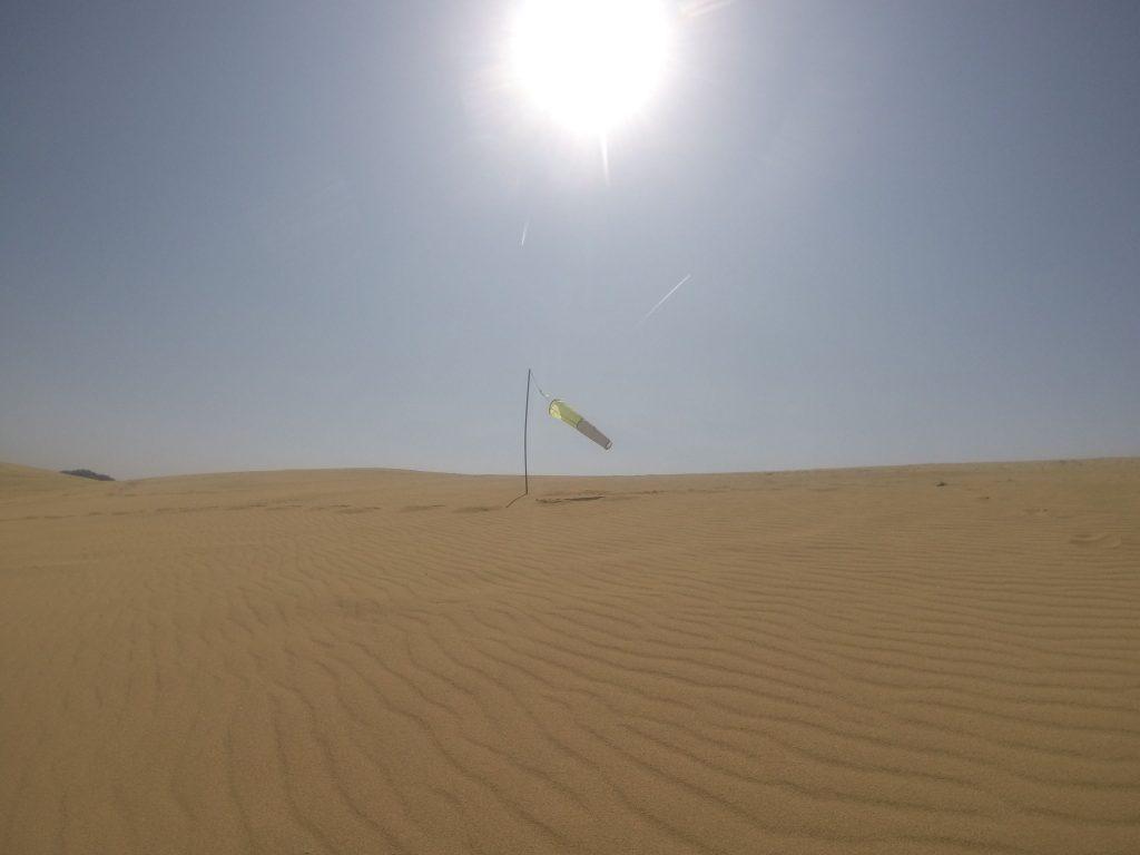 だんだんと暑さの増す鳥取砂丘