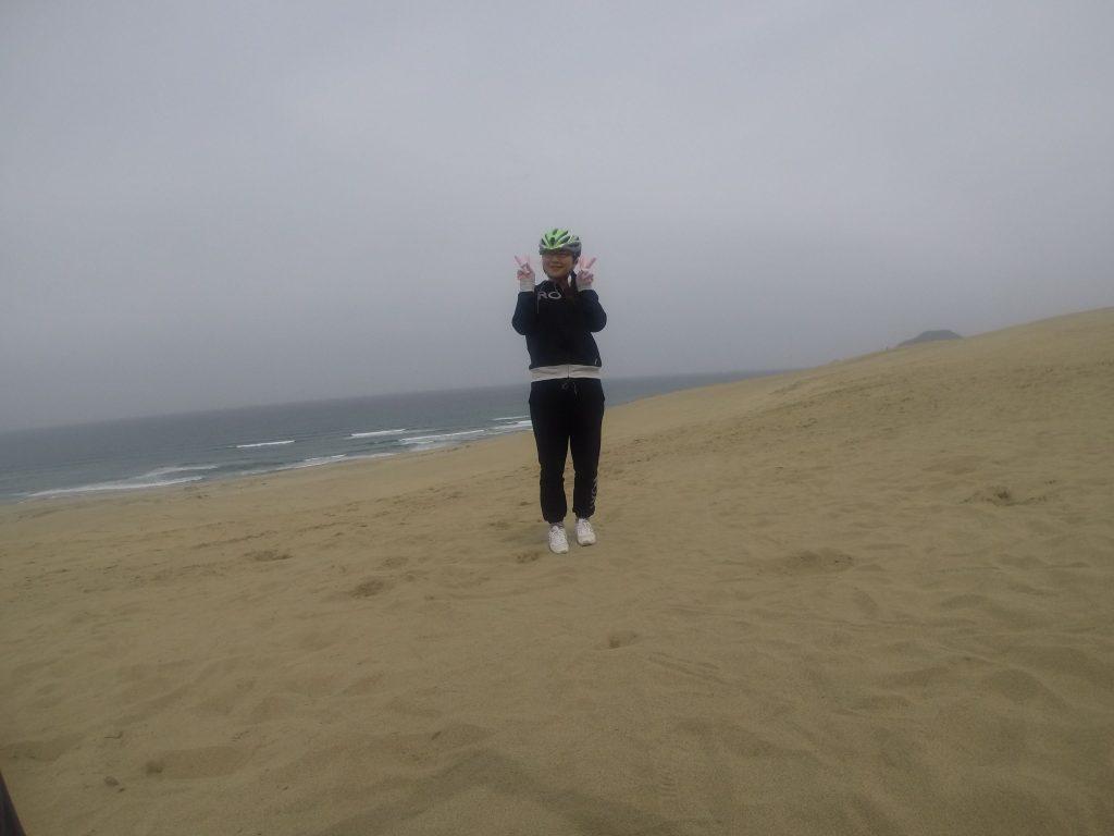 鳥取砂丘を独り占め 午前の部