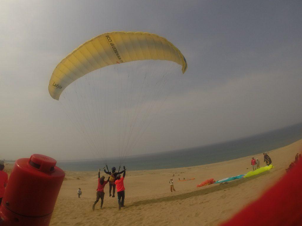 やはり海風になってからはお気軽に飛べました
