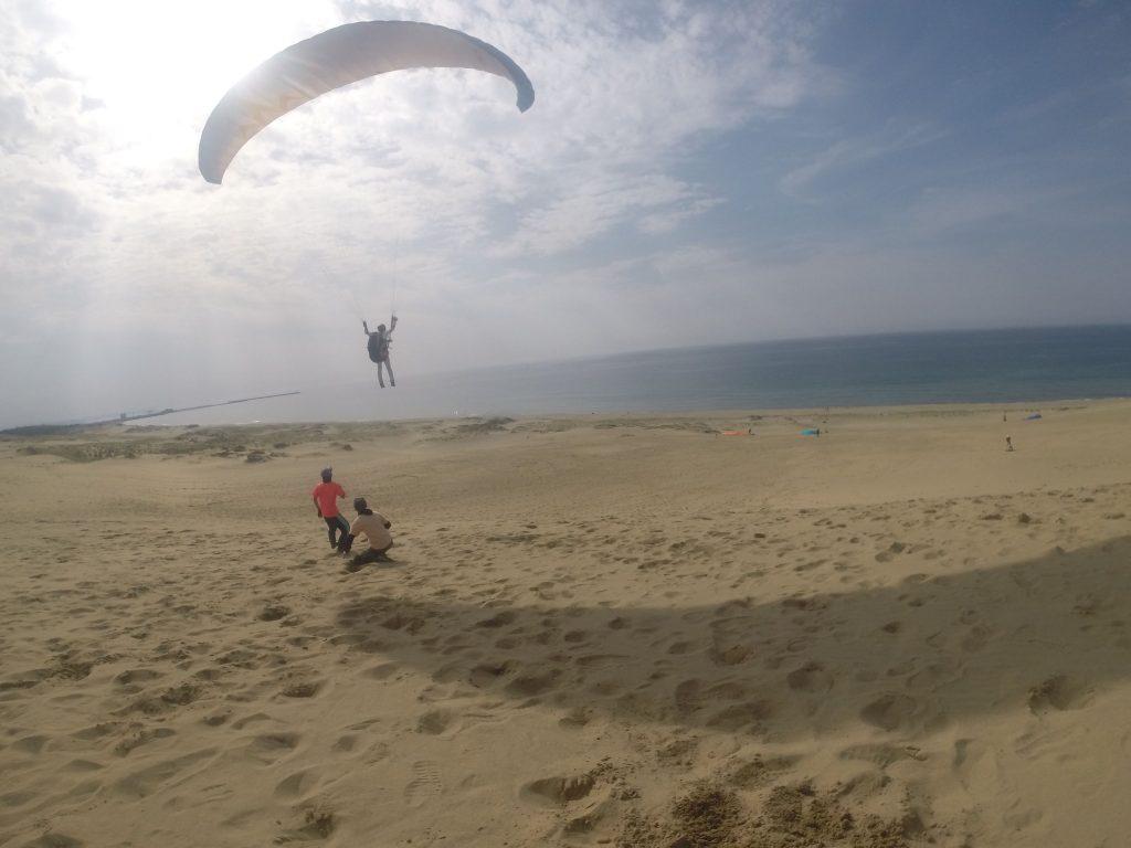 海と空と砂の世界を存分に味わいます