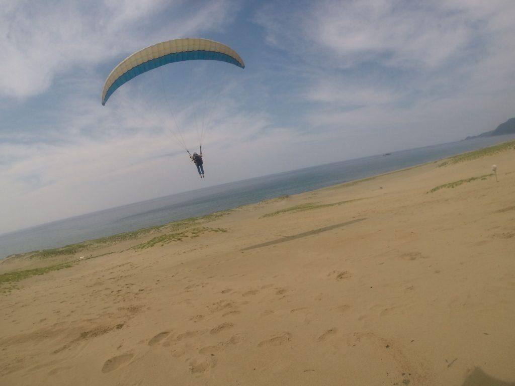 たっぷり鳥取砂丘の空が堪能できました^^