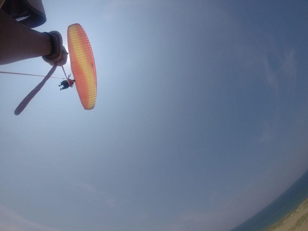 そして最後の締めは、ダイナミックに飛べる二人乗り!