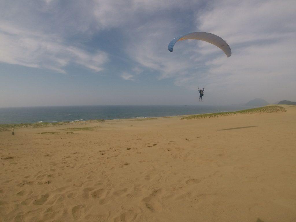 風に乗って、ビュ~ンと遠くまで飛んでいくことも