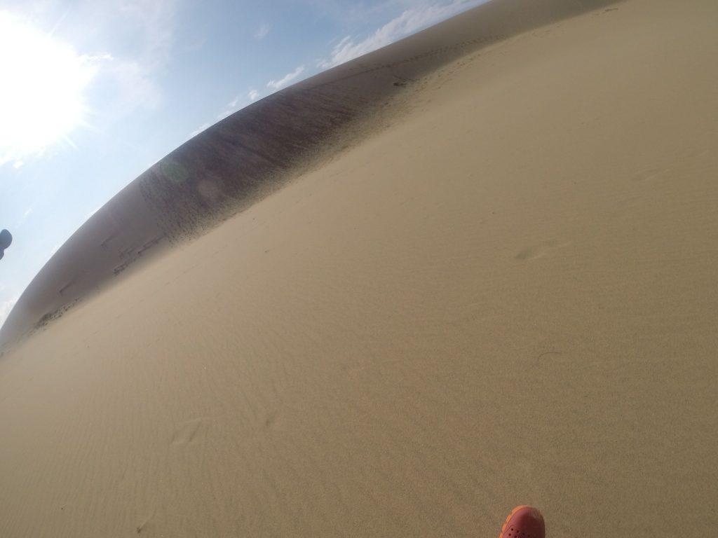 いよいよ猛暑到来の鳥取砂丘