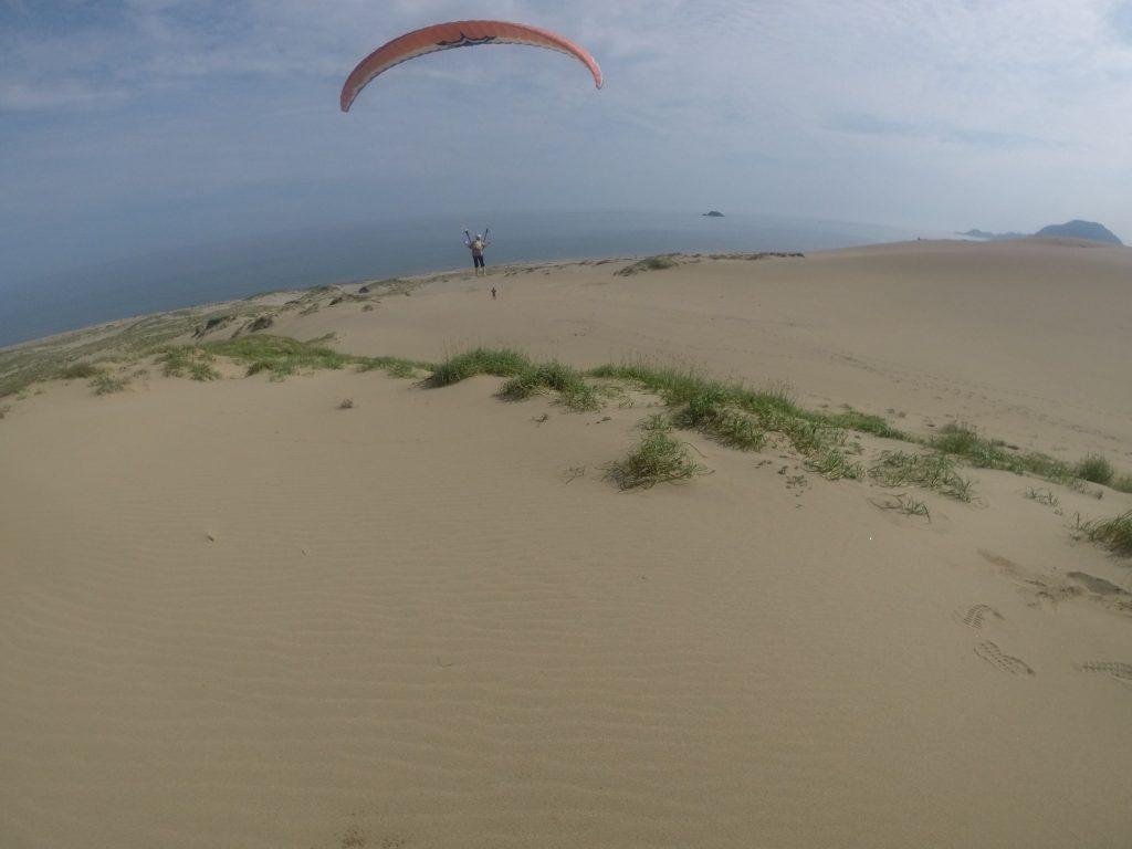海風になってからは、思いっきりソロフライト