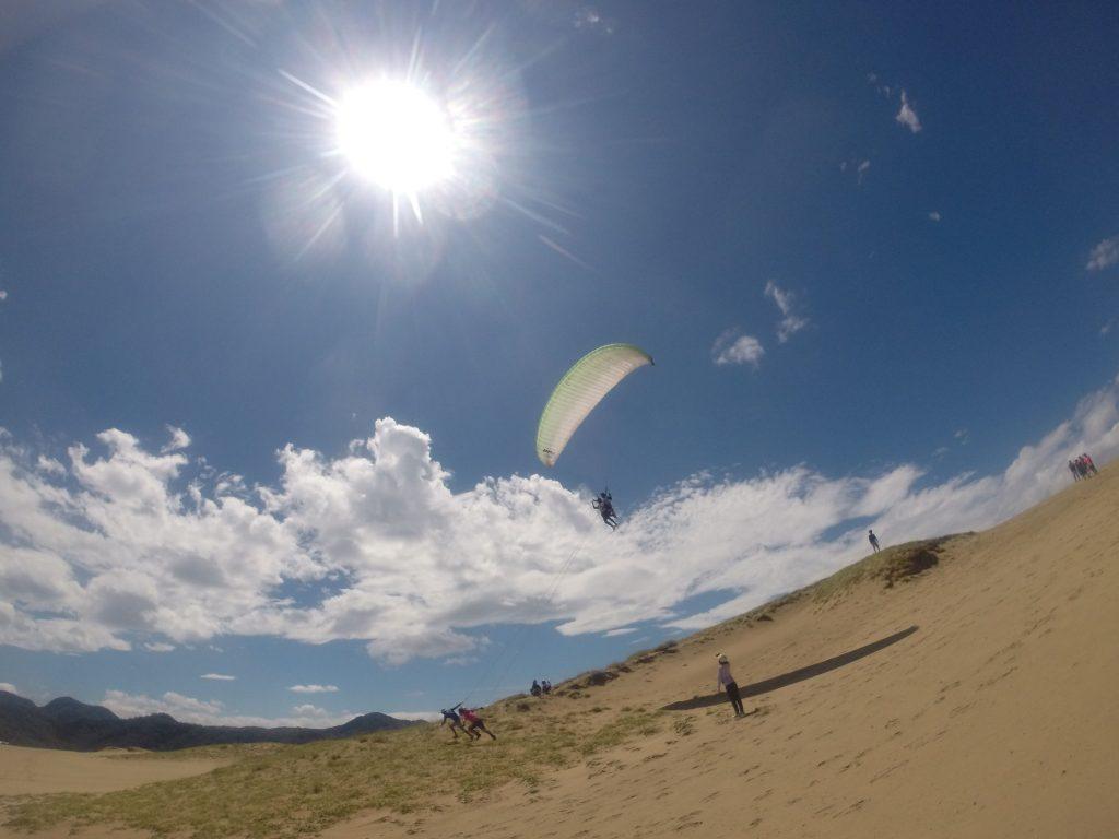 いつもより数倍キレイに感じた砂丘の空を、たっぷり堪能しました