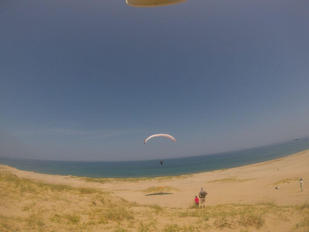 風を感じながら、滑空感に身を任せてみる