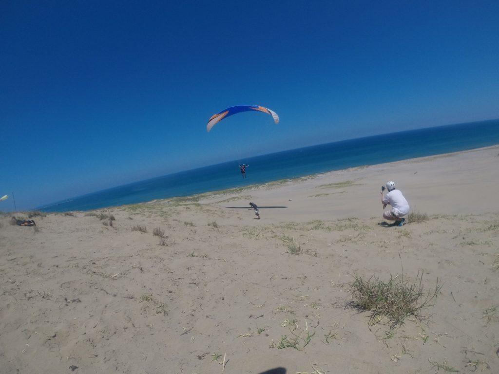 この時間は、たっぷり海風を利用して空へ