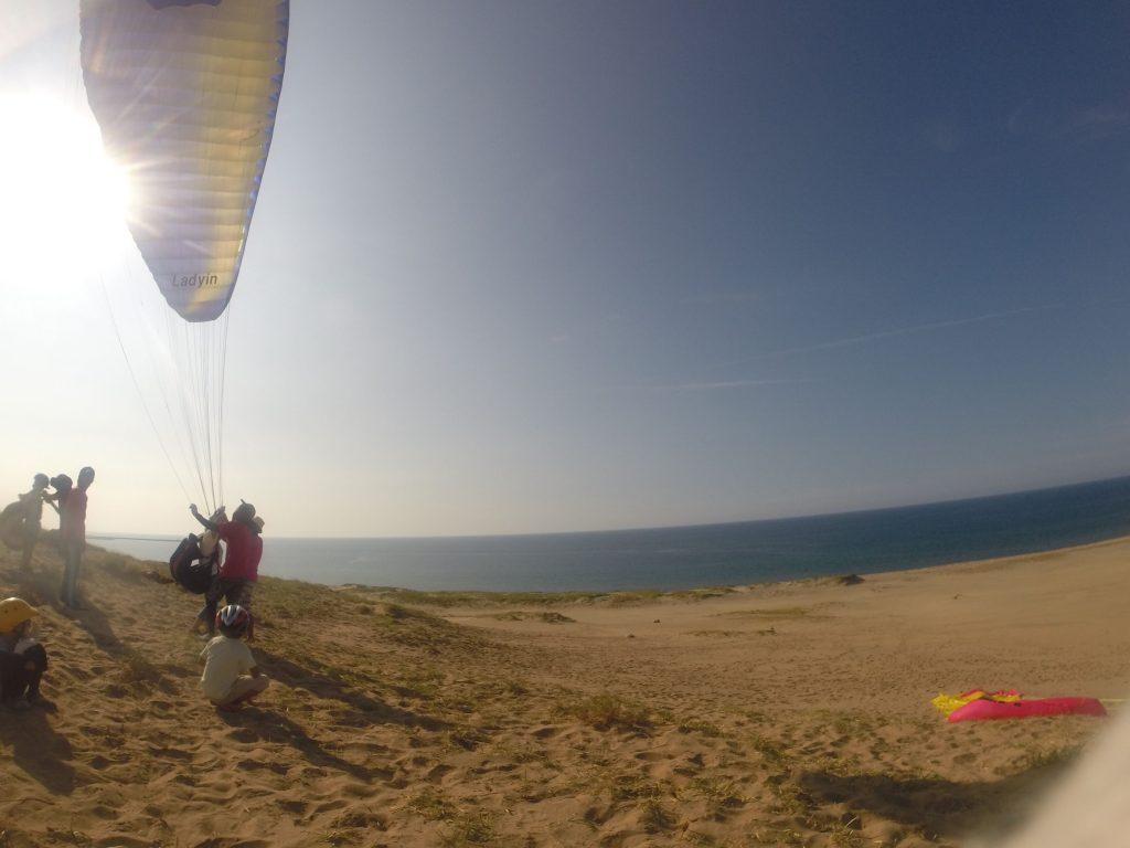 たっぷり練習した操縦方法を使って、うまく空を飛んでみよう