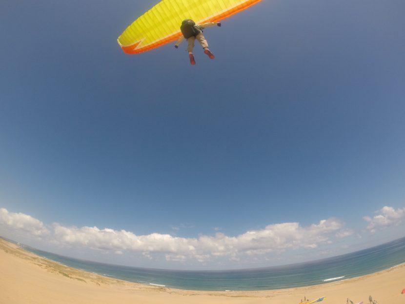 風も、風景も、気候も最高だった鳥取砂丘
