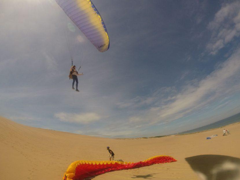 さらにいい風が吹いてくれた、週末空けの鳥取砂丘