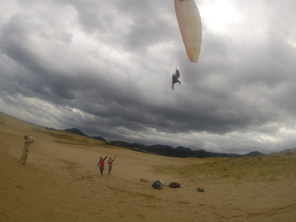 終了後まもなく雨がザっと降ったので、それまでにしっかり飛んでいただきました