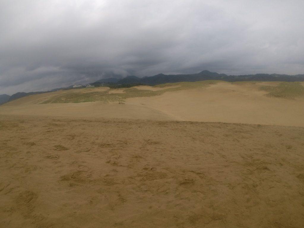 怪しい雲が目白押しの鳥取砂丘