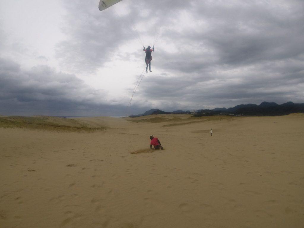 高さを維持しながら、するするっと大空を滑空しました