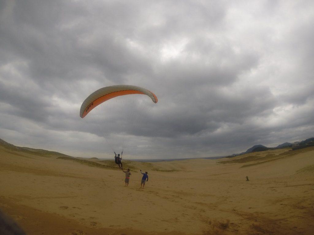 珍しい南東風が吹きましたが、面白く飛べた一日でした