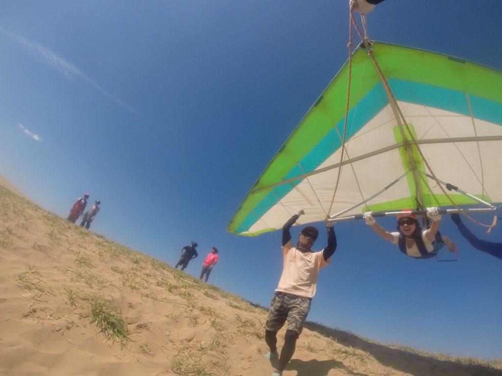 むしろ突風を利用しながら、グングン空を突き進んでいきました