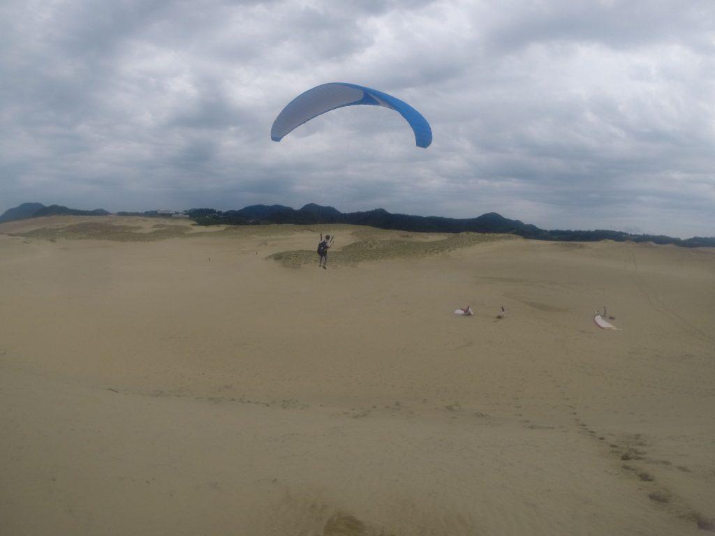 イージーな飛行条件ではなかったですが、しっかり浮遊感覚が楽しめて良かったです