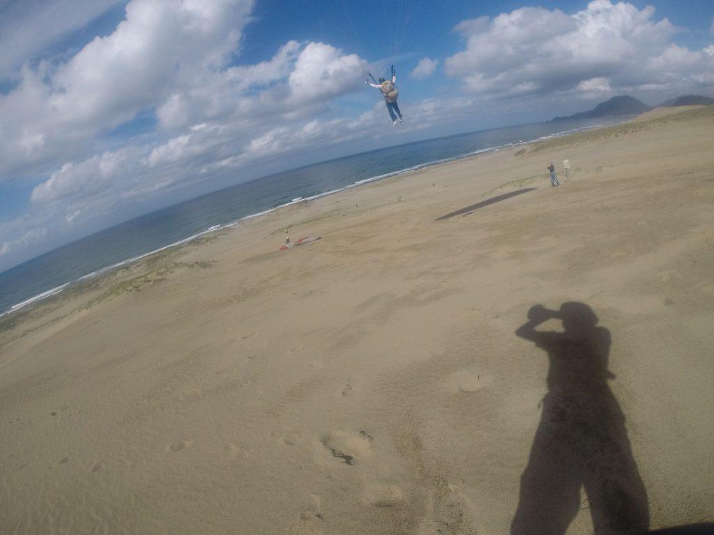 トンビがいっぱい寄ってきて、一緒に飛んだりしましたね