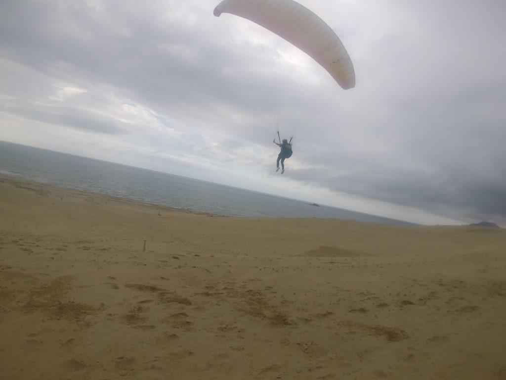 雲行きは多少気になりましたが、最高のフライトコンディションでたっぷり飛べました
