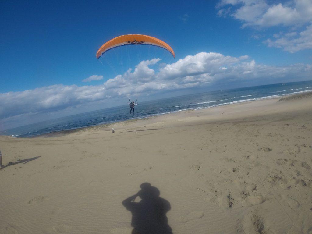 風が強くなるまでは、なかなか軽快なフライトが楽しめました