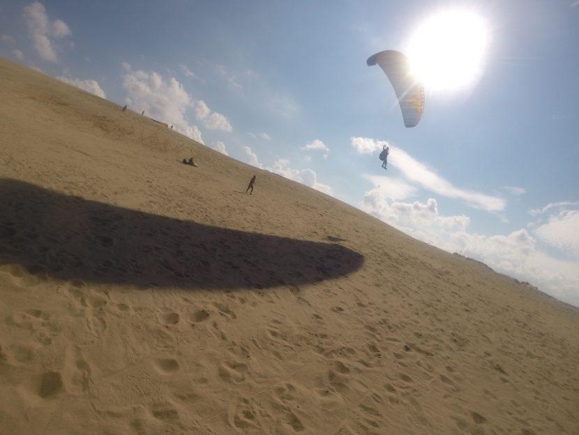 風は超安定、最高の飛びが楽しめた鳥取砂丘