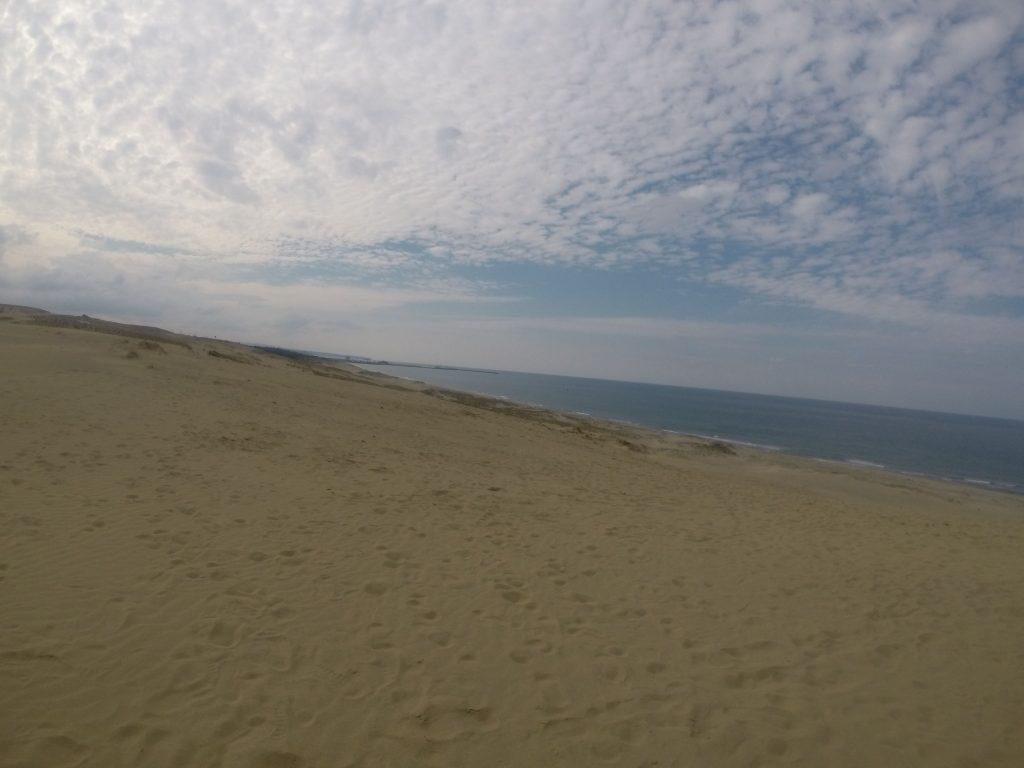 気候、そして風もパーフェクトな旬の鳥取砂丘
