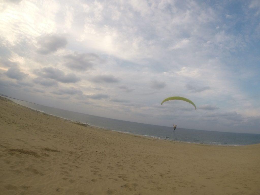 ラストは海岸べりまで飛ぶフライトにも成功しました