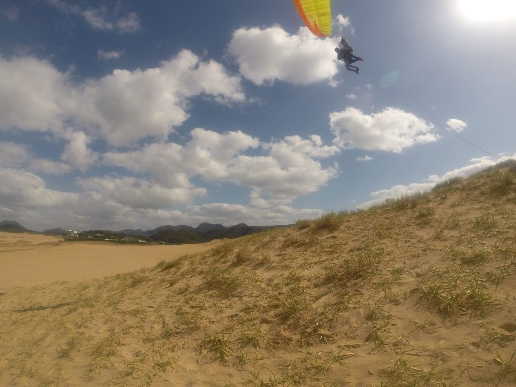 ポカポカ雲を追いかけるようにして、空を駆け巡りました^^