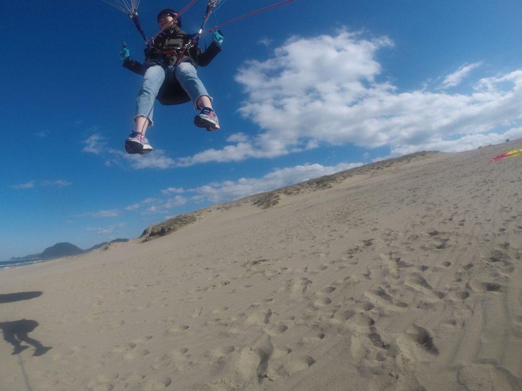 しっかり風があったので、長めに飛んでいただけました