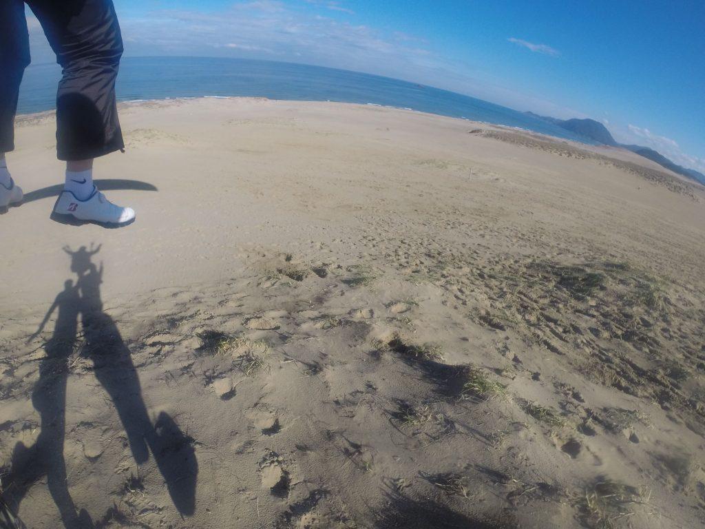 海が広がる大空間に向かって、そっと一歩を踏み出そう