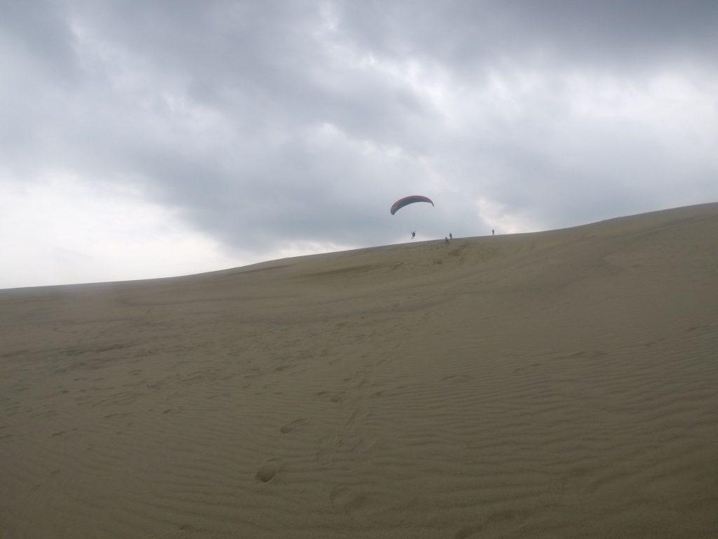 高さはそこそこあるものの、束の間の飛行体験はほんの一瞬?