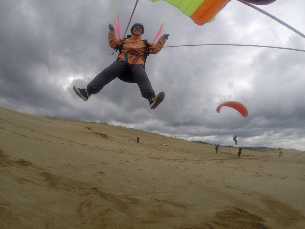 みんなでワイワイしながら、空中散歩を楽しみました