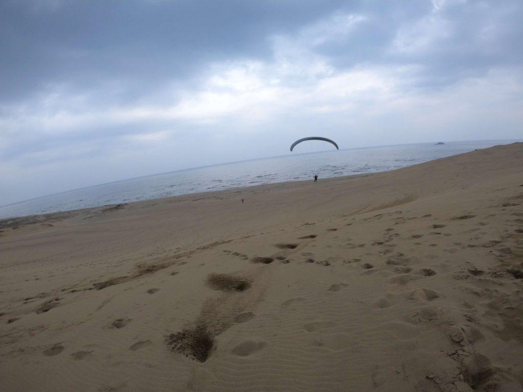 パッとしない天気ではありましたが、砂丘の大空が堪能できましたね!