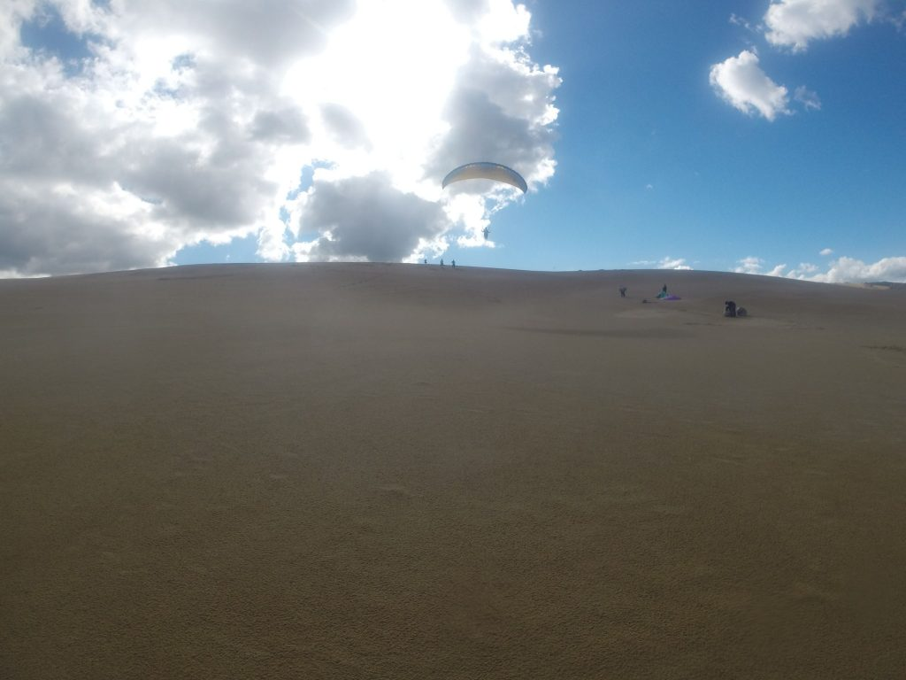 素晴らしい天気と風に恵まれて、思う存分飛べました