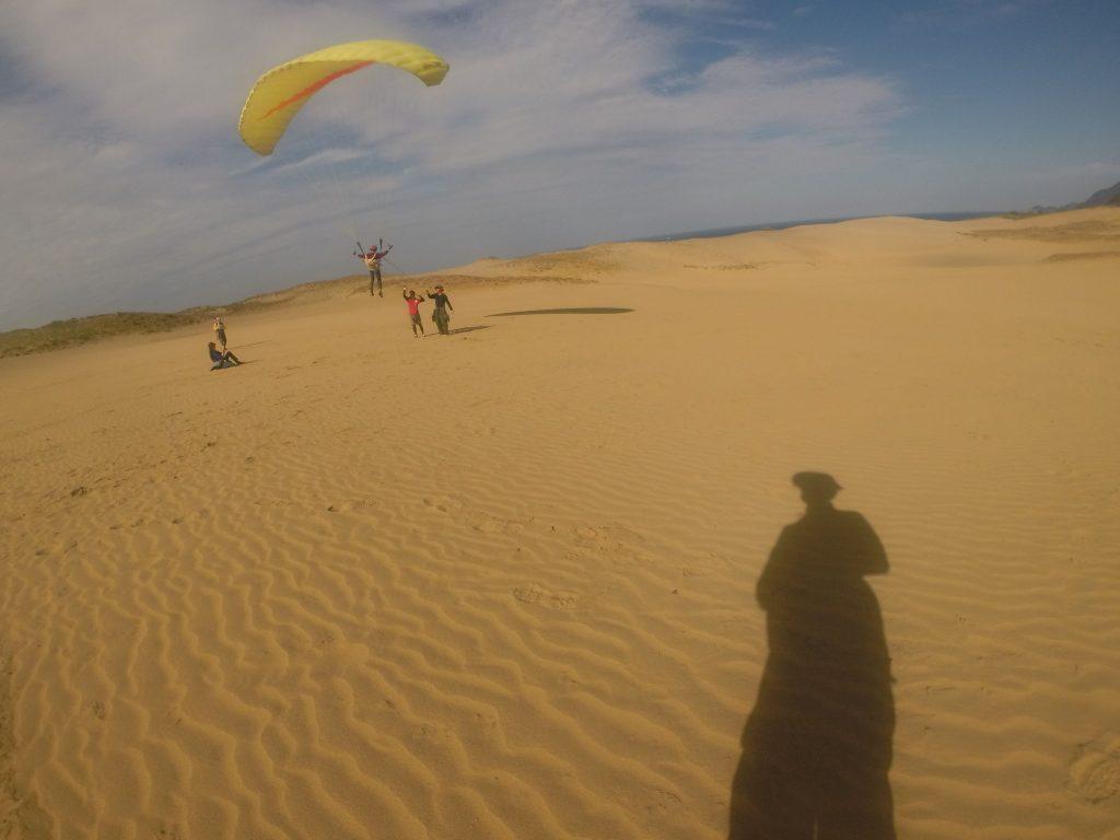風速があっても、安定している風なのでいきなり長く飛べちゃいます