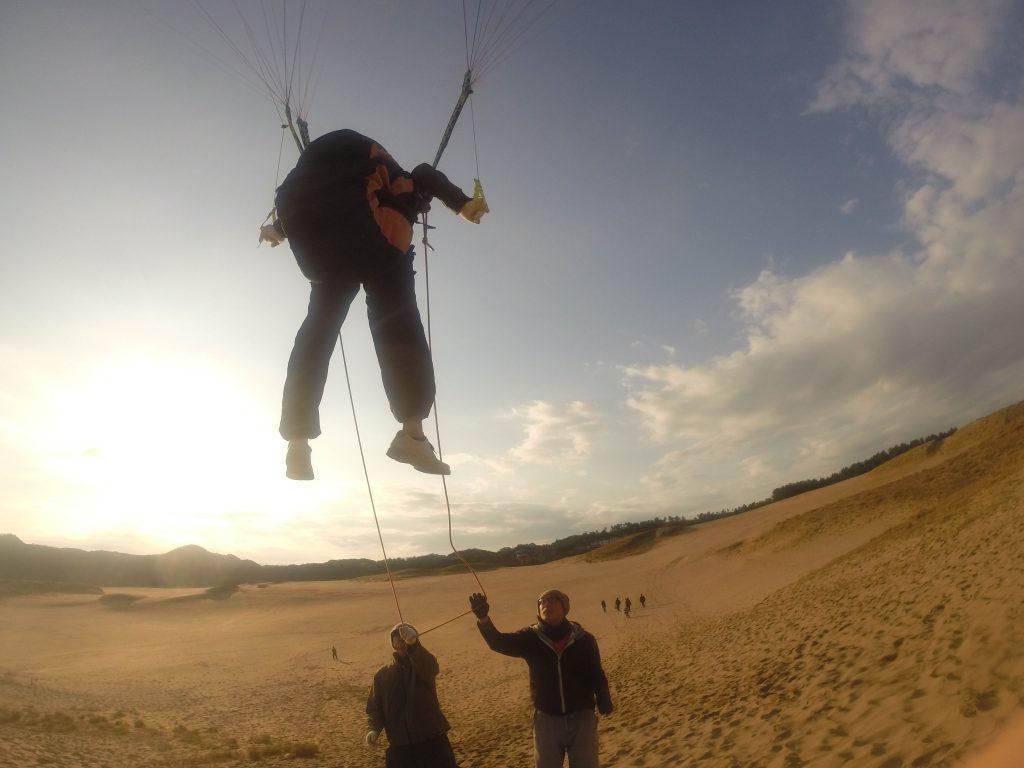 まったく違う飛び方で、より高い視点を獲得して空を楽しみました
